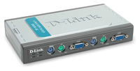 D-Link Pro Connect Switch Box Chassis 4sl switch per keyboard-video-mouse (kvm)