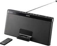 Sony RDP-XF100iP 2.0canali 40W Nero docking station con altoparlanti