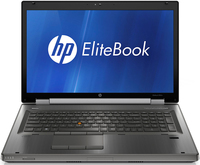"HP EliteBook 8760w 2.7GHz i7-2620M 17.3"" 1600 x 900Pixel Nero, Grigio"