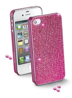 Cellularline BLINGCIPHONE4SP Cover Rosa custodia per cellulare