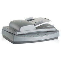 HP Scanjet 7650n Scanner piano 2400 x 2400DPI A4 Grigio