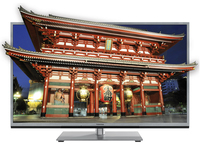 "Toshiba 46UL985G 46"" Full HD Compatibilità 3D Smart TV Wi-Fi Nero, Argento LED TV"
