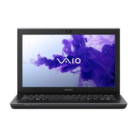 "Sony VAIO SVS13A25PLB 2.5GHz i5-3210M 13.3"" 1600 x 900Pixel Nero notebook/portatile"