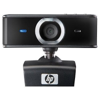 HP Deluxe Webcam 1.3MP 1280 x 1024Pixel USB 2.0 Nero webcam