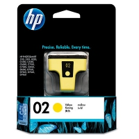 HP 02 Yellow Giallo cartuccia d