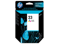 HP 23 2-pack Tri-color Ciano, Giallo cartuccia d