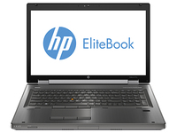 "HP EliteBook 8770w 2.4GHz i7-3630QM 17.3"" 1920 x 1080Pixel Argento Workstation mobile"