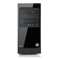 HP Elite 7500 MT 3.2GHz i5-3470 Mini Tower Nero PC