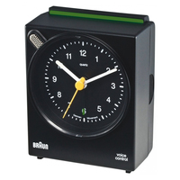 Braun BNC 004 Quartz table clock Rettangolare Nero