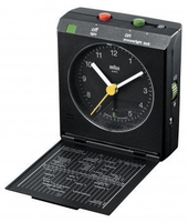 Braun BNC 005 Quartz table clock Rettangolare Nero
