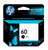 HP 60 Black Nero cartuccia d
