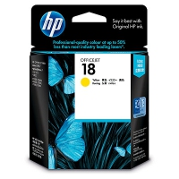 HP 18 Yellow Giallo cartuccia d