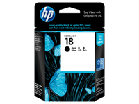 HP 18 Black Nero cartuccia d