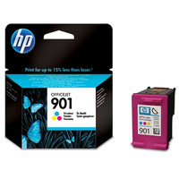 HP 901 Tri-color Officejet Ink Cartridge Ciano, Giallo cartuccia d