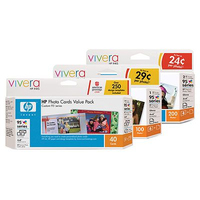 HP 95 Series Photo Value Pack-100 sht/4 x 6 in cartuccia d