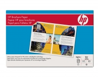 HP 48-lb Glossy Brochure Paper-150 sht/Tabloid/11 x 17 in carta inkjet