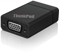Lenovo ThinkPad Tablet 2 VGA Adapter DB-15 Nero cavo di interfaccia e adattatore