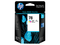 HP 78 Tri-color Ciano, Giallo cartuccia d