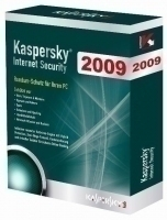 Kaspersky Lab Internet Security 2009, 3 User, DVD, Box, DE 3utente(i) Tedesca