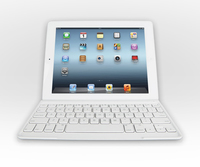 Logitech Ultrathin Keyboard Cover Bluetooth QWERTY Olandese Bianco tastiera per dispositivo mobile