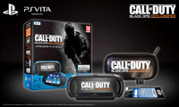 "Sony PS Vita WiFi + COD: Black OPS Declassified - Limited Edition + 4GB 5"" Touch screen Wi-Fi Nero console da gioco portatile"