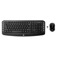HP Wireless Classic Desktop RF Wireless Nero tastiera