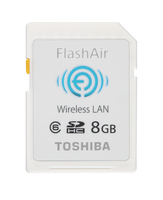 Toshiba 8GB FlashAir 8GB SD Classe 6 memoria flash