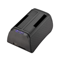TooQ TQDS-702BG Nero docking station HDD/SSD