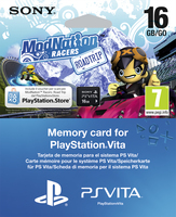 Sony ModNation Racers: Essentials, PS Vita voucher + 16GB PlayStation Vita Inglese videogioco