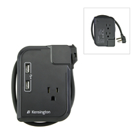 Kensington Portable Power Outlet Nero adattatore e invertitore