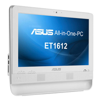 "ASUS ET ET1612IUTS-W002C 1.1GHz 847 15.6"" 1366 x 768Pixel Touch screen Bianco PC All-in-one"