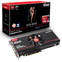 CLUB3D CGAX-7876XT Radeon HD7870 2GB GDDR5 scheda video