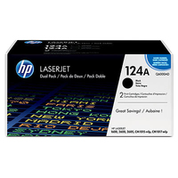 HP 124A Black Laser cartridge 2500pagine Nero