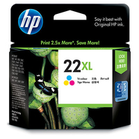 HP 22XL Tri-color Ciano, Giallo cartuccia d