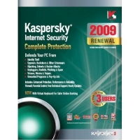 Kaspersky Lab Internet Security 2009, 3-Desktop, 1 year Renewal Subscription (PC) 3utente(i) 1anno/i Inglese