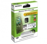 Sony MemoryStick Micro 2GB (M2) + USB Adapter Ericsson Packaging 2GB M2 memoria flash
