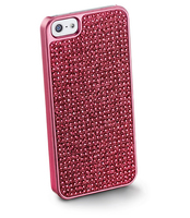 Cellularline Bling for iPhone 5 Cover Rosa