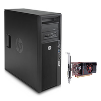 HP Z220 Convertible Minitower Workstation Bundle