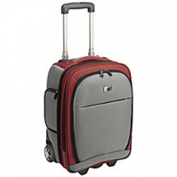 "Case Logic 16"" Lightweight Upright Roller grey/red 16"" Trolley case Rosso"