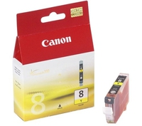 Canon CLI-8Y Yellow Ink Cartridge Giallo cartuccia d