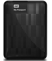 HP WD My Passport 500GB 500GB Nero disco rigido esterno