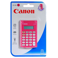 Canon AS-8 Tasca Calcolatrice di base Rosa