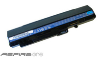Acer Aspire One Battery - 6 Cell Black Ioni di Litio 5200mAh batteria ricaricabile