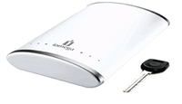 Iomega eGo Alpine White Portable Hard Drive 320 GB 320GB Bianco disco rigido esterno