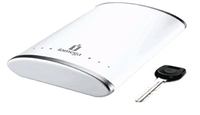 Iomega eGo Alpine White Portable Hard Drive 250 GB 250GB Bianco disco rigido esterno