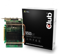 CLUB3D 9500GT 512MB Passive Heatpipe GeForce 9500 GT GDDR2