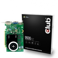 CLUB3D Geforce 9500GT PCI-E 512MB GeForce 9500 GT GDDR2