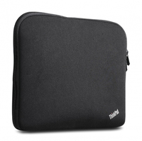 "Lenovo ThinkPad 12"" Fitted Reversible Sleeve 12"" Custodia a tasca Nero"
