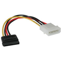 "C2G Serial ATA Power Adapter Cable 6"" 0.15m cavo SATA"