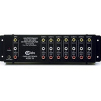 C2G RCA Audio/Video Distribution Amplifier Nero divisore di rete